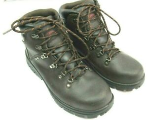 Avenger Mens Waterproof Steel Toe Safety Work Boots Brown 10 W Leather A7225