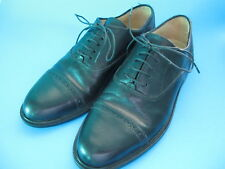 Alfani Leather Oxford Men's Black Dress Shoes, Size 7, Made In Italy