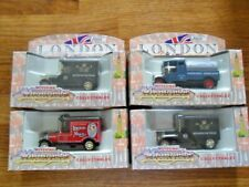 "SET OF 4 x CORGI CLASSICS ""LONDON SCENE"" VINTAGE VEHICLES .ALL MINT IN THE BOX"