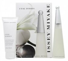 ISSEY MIYAKE L'EAU D'ISSEY GIFT SET 50ML EDT + 75ML BODY LOTION - WOMEN'S. NEW