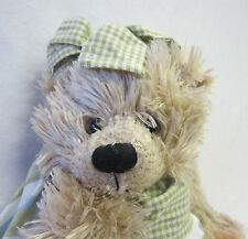 New Soft & Fluffy Plush Teddy Bear Nessie in Dress & Headband Makes a Great Gift