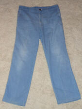 Mens Vintage Lee Talon Zipper Union USA  Light Blue Jeans Size: 38x32 38 x 32