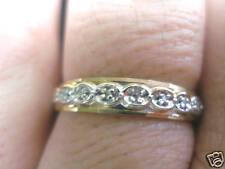 NOS MAN'S DIAMOND WEDDING BAND