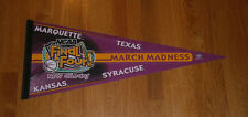 2003 Final Four pennant Marquette Golden Eagles Kansas Jayhawks Texas Syracuse