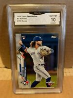 BO BICHETTE 2020 TOPPS OPENING DAY 1ST GRADED 10 ROOKIE CARD TORONTO BLUE JAYS