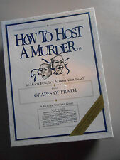 NEW How To Host A Murder Grapes Of Frath SEALED VINTAGE Mystery Role Play Game