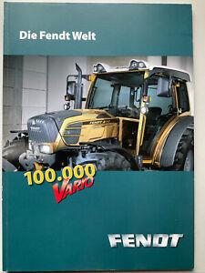 Die FENDT Welt Produktprogramm Prospekt von 10/2009 mit 84 Seiten, Original