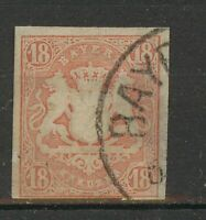 SHIPPING TO EU ONLY: Stamp Bavaria 1867, Mi19, used, combine shipping 333