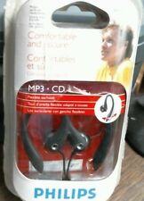 Philips SHS3200BK 37 Flexible Earhook Headphones, Black