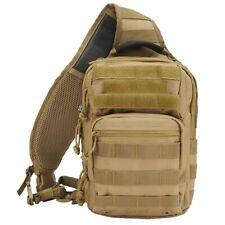 Brandit US Cooper Every Day Carry EDC Sling Backpack Rucksack Daysack Bag Camel