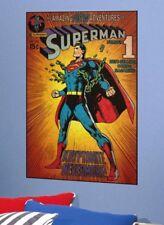 "DC Comics Peel & Stick Superman Classic Wall Decal - 36"" X 24"" New!"