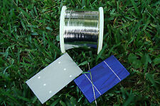 110' x2mm SOLDER Tab WIRE for Solar Cell MAKE OWN PANEL