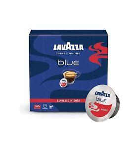 Lavazza BLUE Capsules, Espresso Intenso Coffee Blend 100 Pack (28.2-Ounce) 🇮🇹