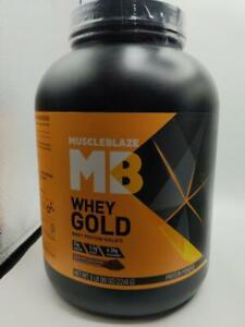 Muscleblaze Whey Gold Why Protein Isolate Gourmet Chocolate 5lb