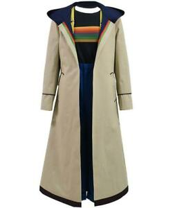 NEW!! Her Universe Doctor Who Thirteenth 13th Doctor trench coat jacket - SMALL