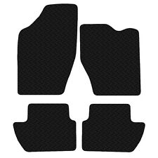 Peugeot 307 2001 to 2008 Black Floor Tailored 3mm Rubber Car Mats