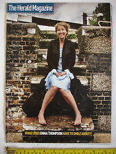 The Herald Magazine 8th October 2005. Emma Thompson.Guang Yang.Timothy Clifford.