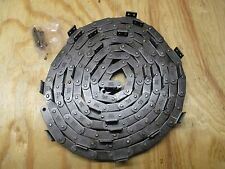 Tsubaki C2040 Roller Chain. C2040A24L A-2 attachment every 4th link 10ft W/CL