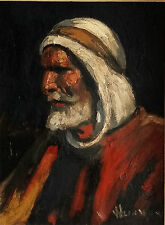 Nandor VAGH-WEINMANN PORTRAIT EGYPTIEN PEINTURE ANCIENNE fauvisme BUDAPEST