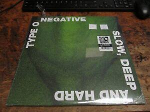 TYPE O NEGATIVE Slow, Deep And Hard 2xLP VINYL Record ROCK Thrash DOOM METAL NEW