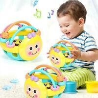 Cartoon Baby Schütteln Glocke Rasseln Ball Neugeborenen Pädagogisches Intel P3F1