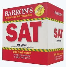 Barron's SAT Flash Cards, 2nd Edition by Sharon Weiner Green and Ira K. Wolf...