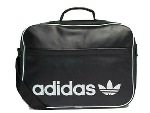 Adidas Originals Airliner Vintage black Shoulder bag retro Mens womens LAST FEW