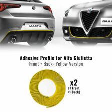 Profilo Giallo Adesivo per Dam Anteriore + Posteriore Alfa Romeo Giulietta