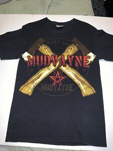 Mudvayne The New Game 2008 Tour Shirt Size Small