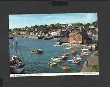 John Hinde Postcard General View Harbour &Town Padstow Cornwall unposted