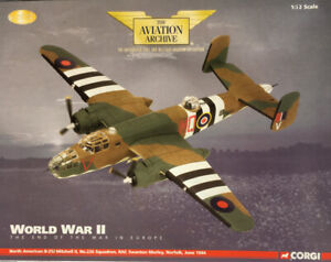CORGI 1/72 AA35304 NORTH AMERICAN B-25J MITCHELL 226 SQN *LTD EDITION - MIB*