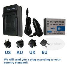 BATTERIA + Caricabatteria per NP-BD1 SONY Cyber-Shot DSC-T70 DSC-T700 DSC-T90 T900 T77