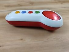 Xbox 360 Scene It Wireless Buzzer Big Button Pad Microsoft IR Controller Red