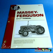 MF14 Workshop Manual Massey Ferguson 35 Tractor w MF 23C & PK 152 Diesel Engine