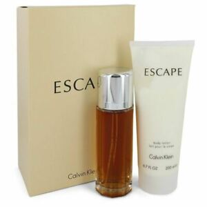 ESCAPE by Calvin Klein Gift Set -- 3.4 oz Eau De Parfum Spray + 6.7 oz Body Loti
