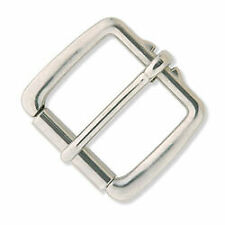 Tandy Leather Stainless Steel Heavy Duty Roller Buckle 1526-00 for Dog Collar