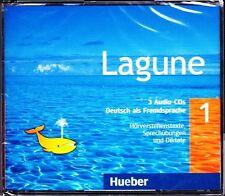 Hueber LAGUNE 1 Deutsch als Fremdsprache 3 Audio CD's (Audiobook) @NEW@
