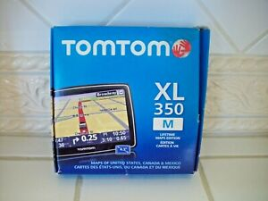 TomTom XL 350 4.3-Inch Portable GPS Navigator Preowned