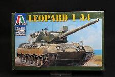 XU012 ITALERI 1/72 maquette tank char 7002 Leopard 1 A4 13,25 cm miltary vehicle