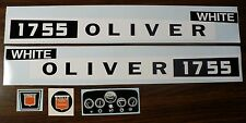 Custom 1755 OLIVER WHITE Pedal Tractor DECAL SET Ertl FREE Ship Computer Cut