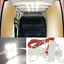 40 LEDs Van Interior Light Kits LED Ceiling Lights Kit for Pickup Truck Caravans