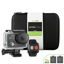 4K Sports Action camera Dual Screen Ultra HD 2 Battery + Remote + Accessory Kit