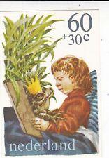 Netherlands 1980 60+30c Kinderpostzegel Maximum Card Unused VGC