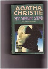 "Agatha Christie "" Spie streghe sfingi"" Arnoldo Mondadori 1° edizione"