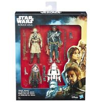 "Disney Star Wars Rogue One Jedha Revolt 3.75"" Figure Pack of 4 Hasbro C1231 Toy"