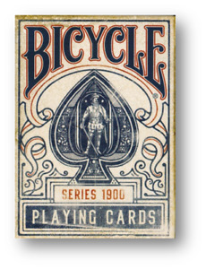 Bicycle - 1900 Playing Cards - Blue Poker Cardistry
