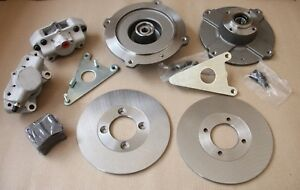 "CLASSIC FIAT 500 F L R 126 FRONT DISC BRAKE CONVERSION KIT ""ABARTH STYLE"""