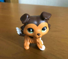 Littlest Pet Shop Custom OOAK LPS Collie Dog Savanah Hand Painted Figure
