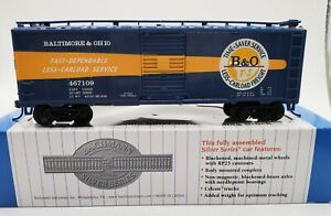 Bachmann HO Scale Silver Series 17057 Baltimore & Ohio 40' Sliding Door Boxcar