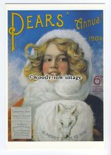 ad0697 - Pears Soap - Pears Annual 1904 - Lever Bro's -  Modern Advert Postcard